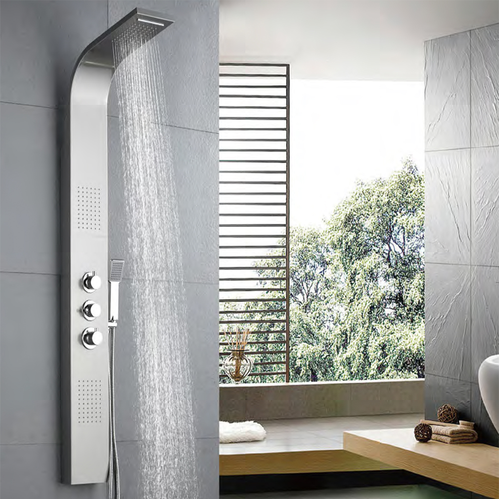 Buy Bathroom Shower Online in Lagos | Shop for Stainless Steel Shower Panels