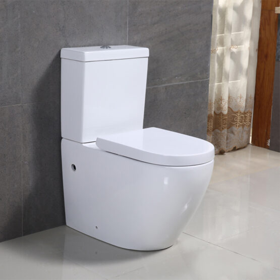 how to fix a close coupled toilet