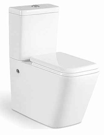 Buy Bathroom Toilet Seats Online in Lagos| Metro Swift Rimless Close Coupled Toilets