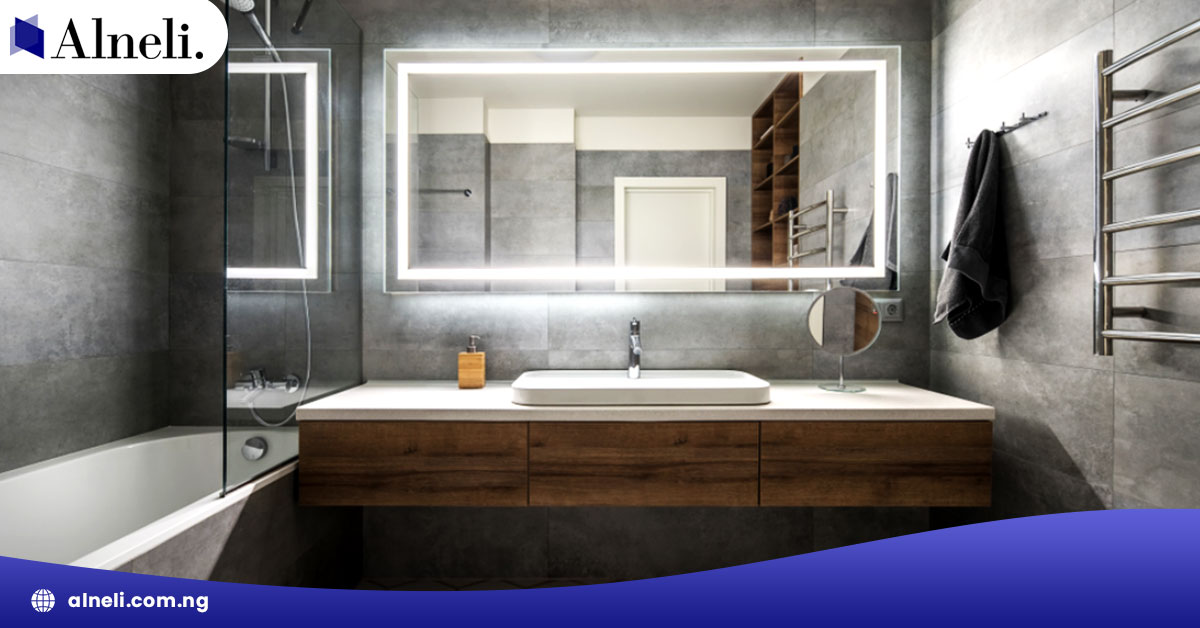 A Complete Guide To Sizing The Mirror Above Your Bathroom Vanity